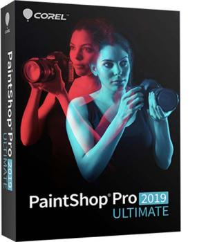 Corel Paint Shop pro 2019 Ultimate dt. Box